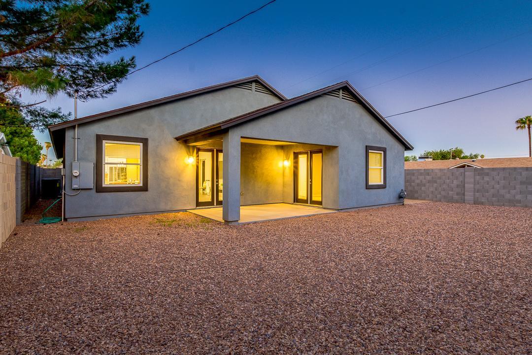 Arizona Real Estate   Backyard 18th Place